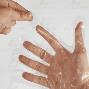 HDPE DISPOSABLE PLASTIC GLOVES