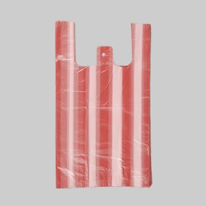 HDPE Stripe T-Shirt Grocery Bag in Different Colors