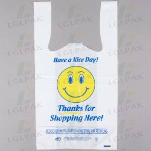 printed plastic carrier bags with customized designs