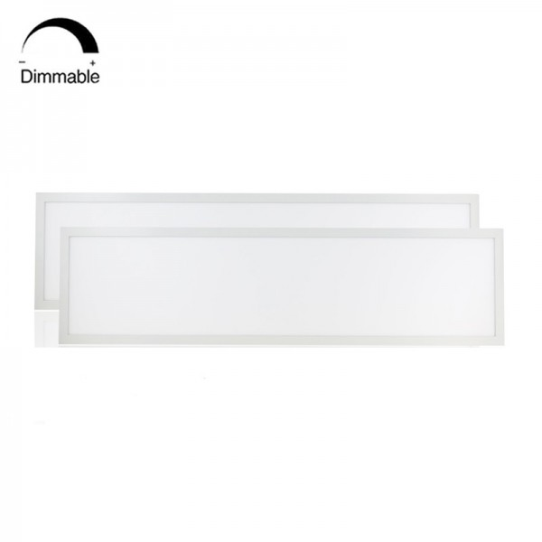 IP65 72W Dimmable Recessed LED Grid Panel Light 30x120cm