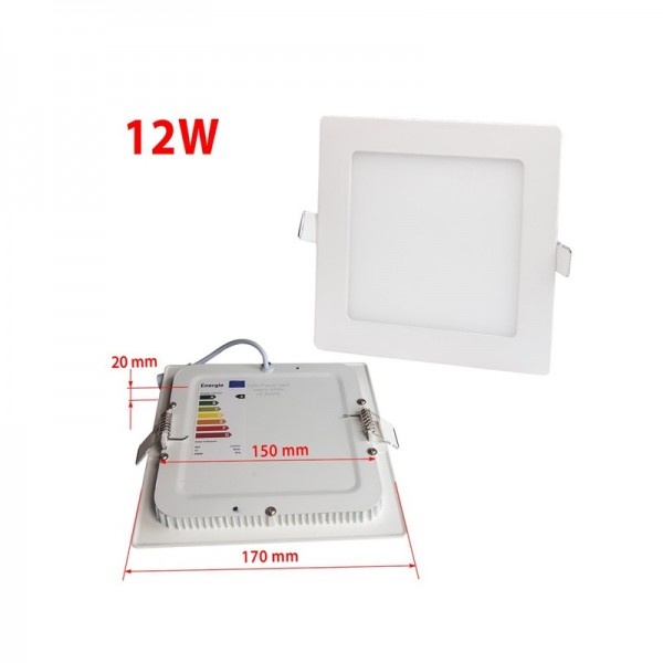 Wholesale Price 12W Mini Recessed LED Panel Ceiling Lighting 170×170