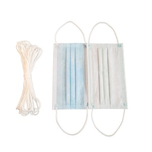 Wholesale Price 3 Ply Non Woven Face Mask - Disposable elastic earloop band – Limeng