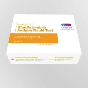 Giardia lamblia Antigen Rapid Test Device