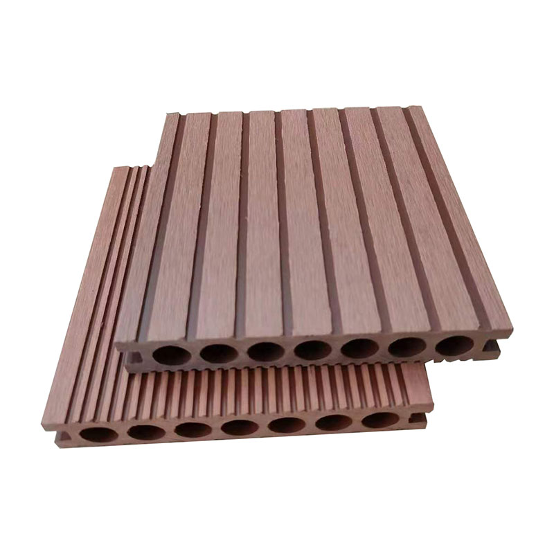 No Painting Low Maintenance Outdoor Composite WPC Decking