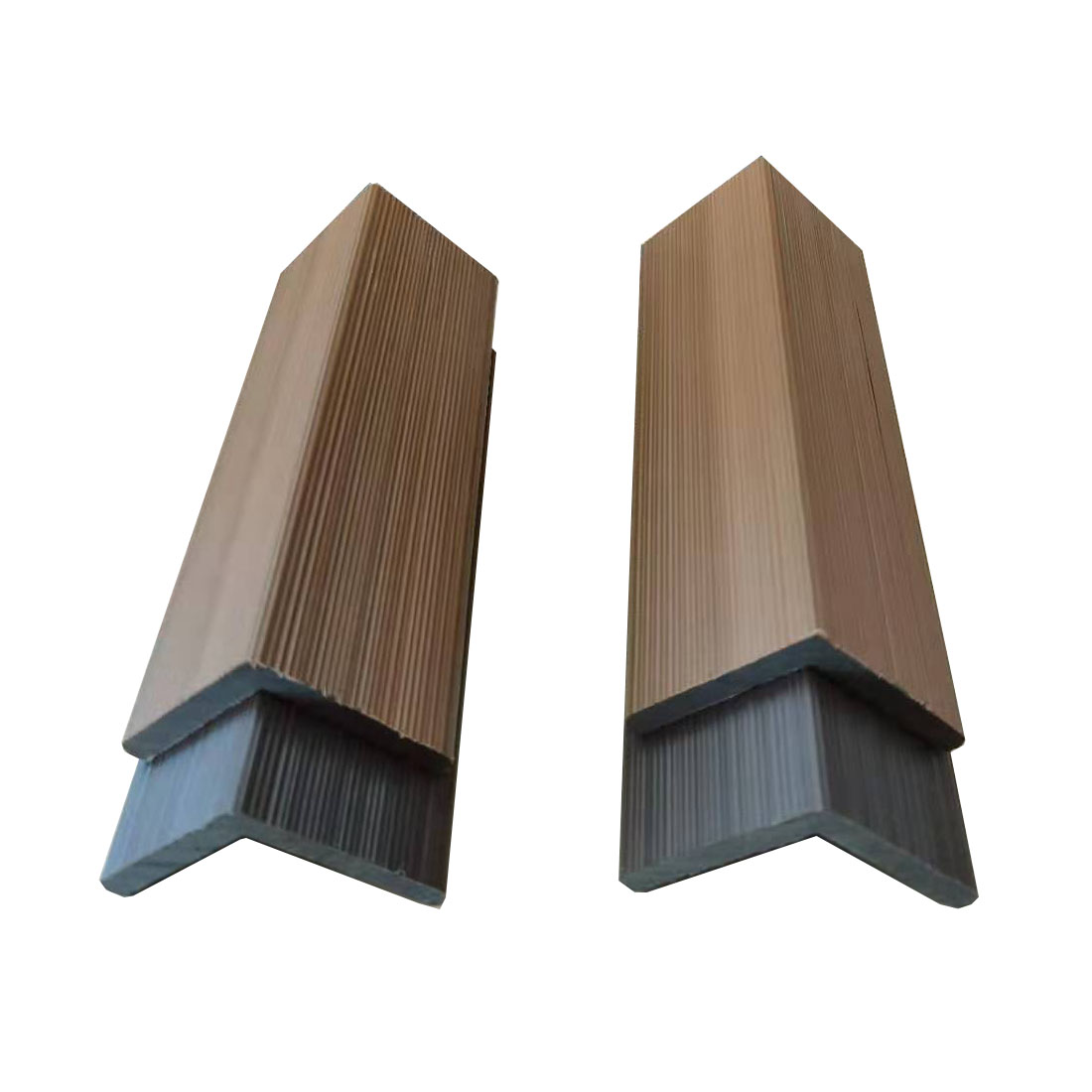 Co-extrusion Waterproof Wood Composite WPC Cover Edge Boards