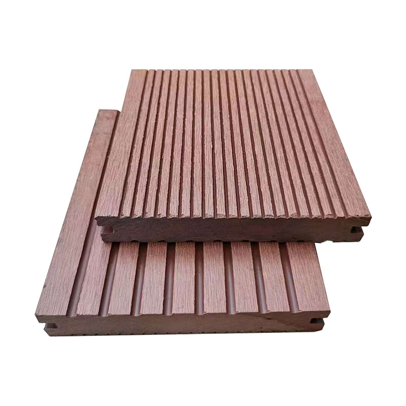 Environmental Friendly Weather Resistance Wood WPC Solid Decking