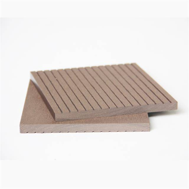 China manufacturer waterproof 130x10mm wood plastic composite WPC wall cladding