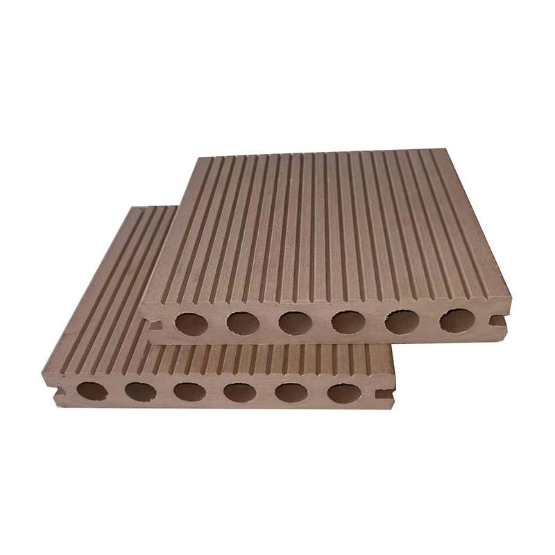 Insect Prevention Recyclable Wood Plastic WPC Decking