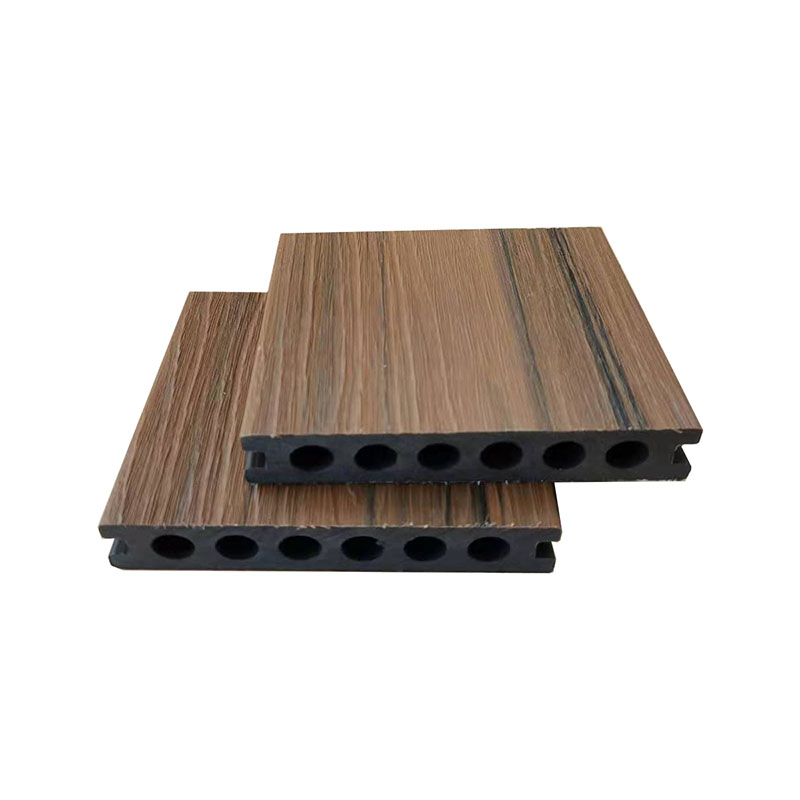 Waterproof Wood Composite Two Color Co-extrusion WPC Decking