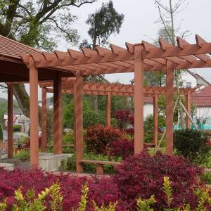 2021 Good Quality Arbour - Outdoor Garden Weather Resistance WPC Elegant Pergola – Lihua