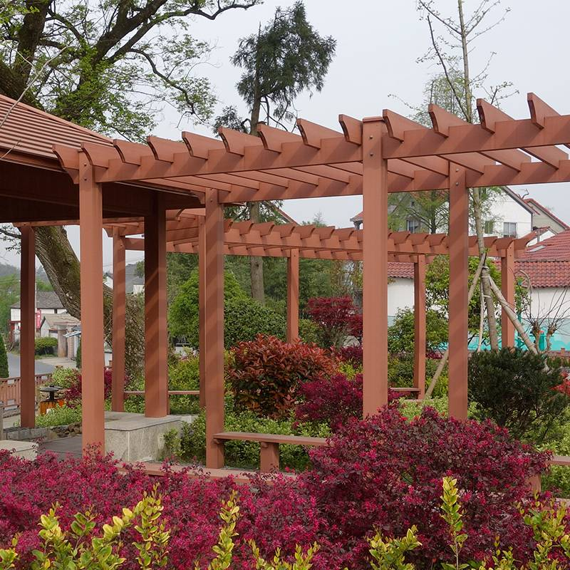 Outdoor Garden Weather Resistance WPC Elegant Pergola