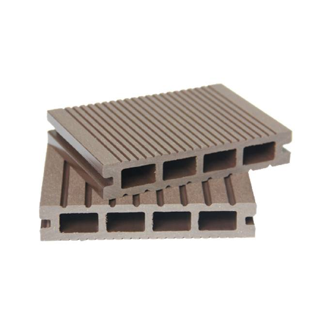 Weather Resistance Outdoor Wood Composite WPC Hollow Decking