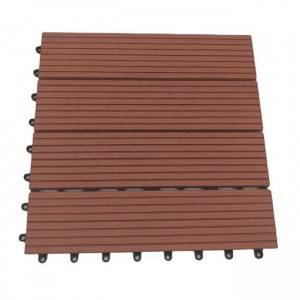 OEM/ODM Manufacturer WPC Waterproof Flooring - Eco Friendly WPC Swimming Pool Around Areas Outdoor DIY Interlocking Composite Decking Tiles – Lihua