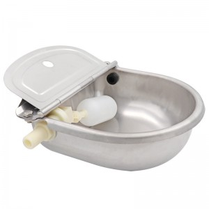 Stainless Steel Cattle Drinking Bowl With Float