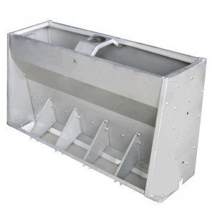China Cheap price Pig Feeding Equipment - Stainless Steel Pig Conservation Trough – MARSHINE