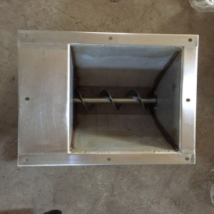 Stainless Steel Auger Feed Boot