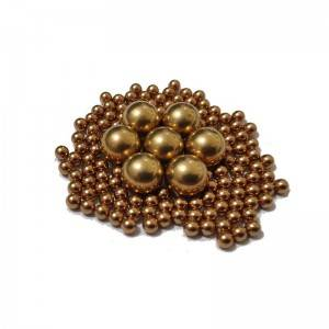 2020 High quality Pure Solid Copper Ball - Brass Ball – Lixin