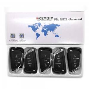 KEYDIY NB series NB29 button universal remote control 5pcs/lot for KD-X2 mini KD