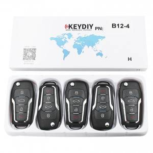 Free sample for Keyless Remotes For Cars - KEYDIY KD B12-4 Universal Remote Control FOR KD900 – Locksmithobd