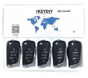 KEYDIY NB series NB11-3 button universal remote control 5pcs/lot for KD-X2 mini KD