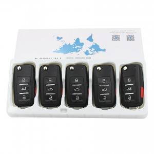 KEYDIY NB series NB08 3+1 button universal remote control 5pcs/lot for KD-X2 mini KD