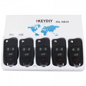 KEYDIY NB series NB18 button universal remote control 5pcs/lot for KD-X2 mini KD