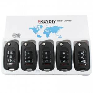 KEYDIY NB series NB10 3+1 button universal remote control 5pcs/lot for KD-X2 mini KD