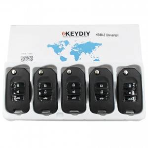 KEYDIY NB series NB10 3 button universal remote control 5pcs/lot for KD-X2 mini KD