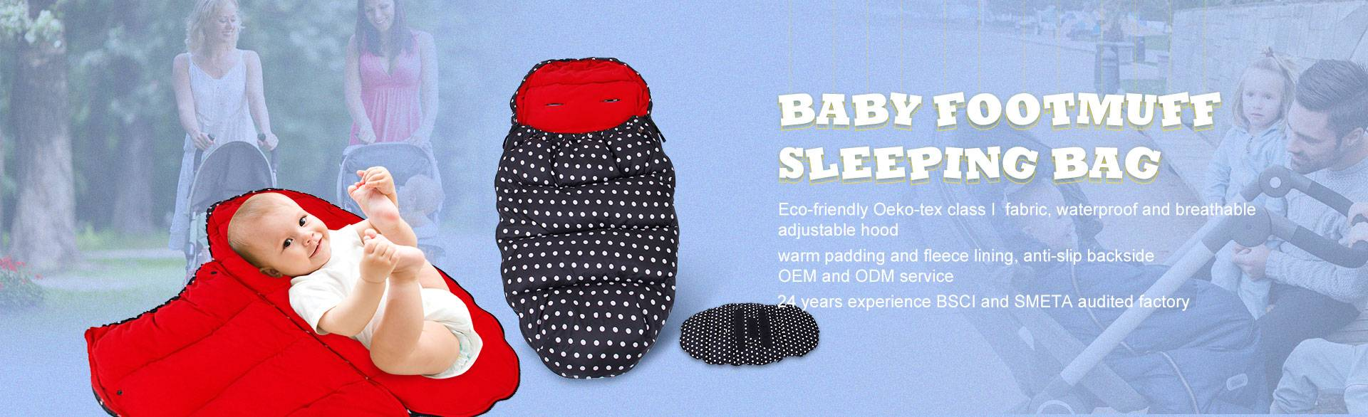 baby footmuff  sleeping bag