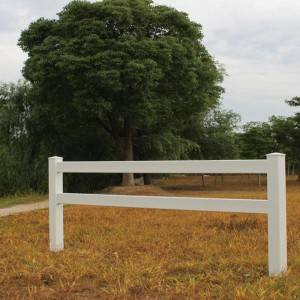 PVC Classic Horse Fence