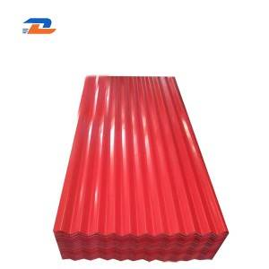 Color Corrugated Roofing Sheet