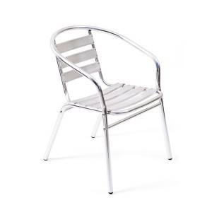 Factory Supply Patio Table And Chairs - Alum. 7-sheet Outdoor garden Chair – Luqi