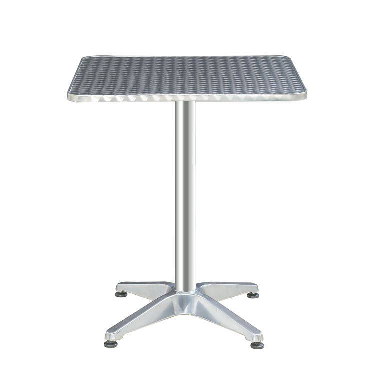 Alum. Square Bar Table(rolled edge for water proof) Featured Image