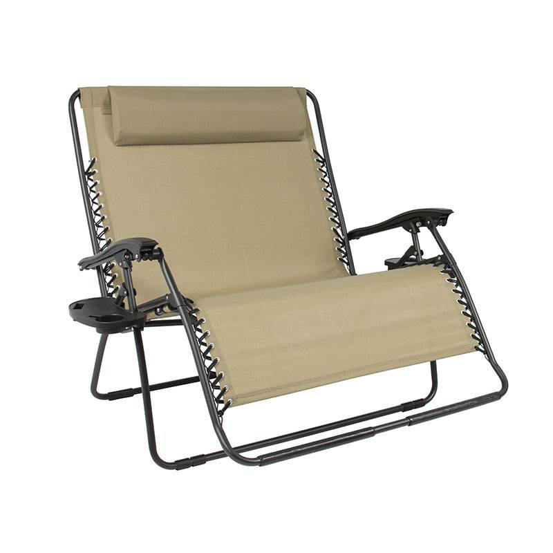 China wholesale Beach Chair - Double Zero Gravity Chair – Luqi