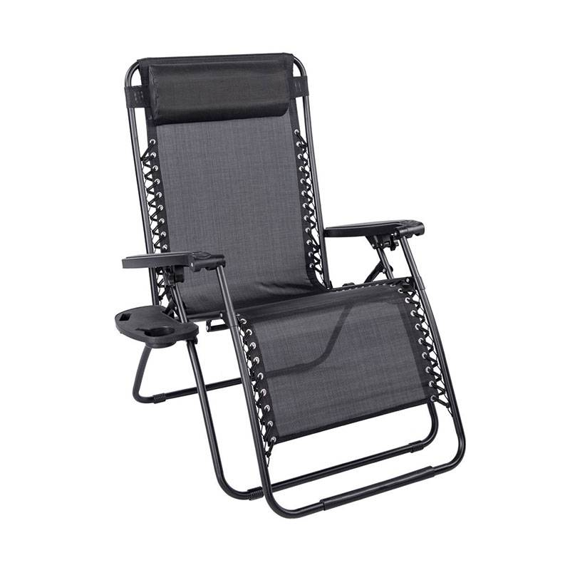 Bunnings Outdoor Chairs Factories - Oversized Zero Gravity Chair Folding Beach Chair – Luqi