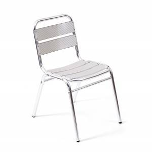 Wholesale Price Aluminum Bar Table And Chairs Factory - Alum. 5-sheet Outdoor garden Chair wo armrest – Luqi