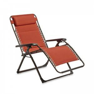 Oversized square tube Zero Gravity Chair with cotton