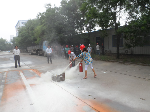 "Group Company Employees ""Safety Month Fire Drill"" Campaign in June 2014"