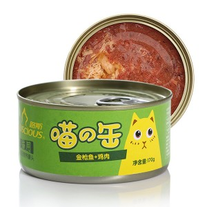 China New Product Cat Wet Food Manufacturer - LSCW-06 Whole Tuna with Chicken – Luscious