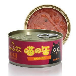 Manufacturing Companies for China Cat Treats - LSCW-07 Whole Tuna with Shrimp – Luscious