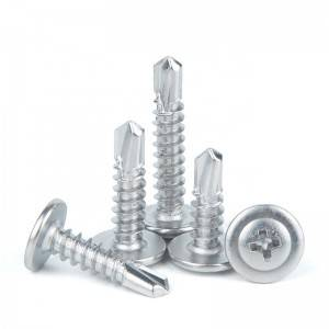 SS306 A2-70 Stainless Steel Phillips Truss Head Self Drilling Screw