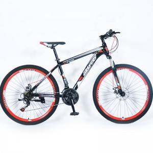 MIAI Popular 26 Inch 24 Speed Downhill Mountain Bike with light Cycles for Men
