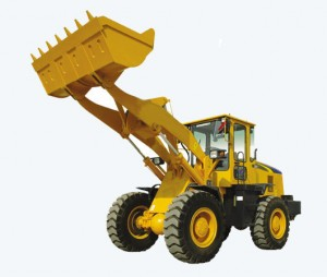 Hydraulic Wheel Loader 1.5ton with Cummins Engine and Ce Approved