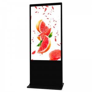 Cheapest Price China 55inch Android Network Two Sides Digital Sigange with WiFi Bluetooth