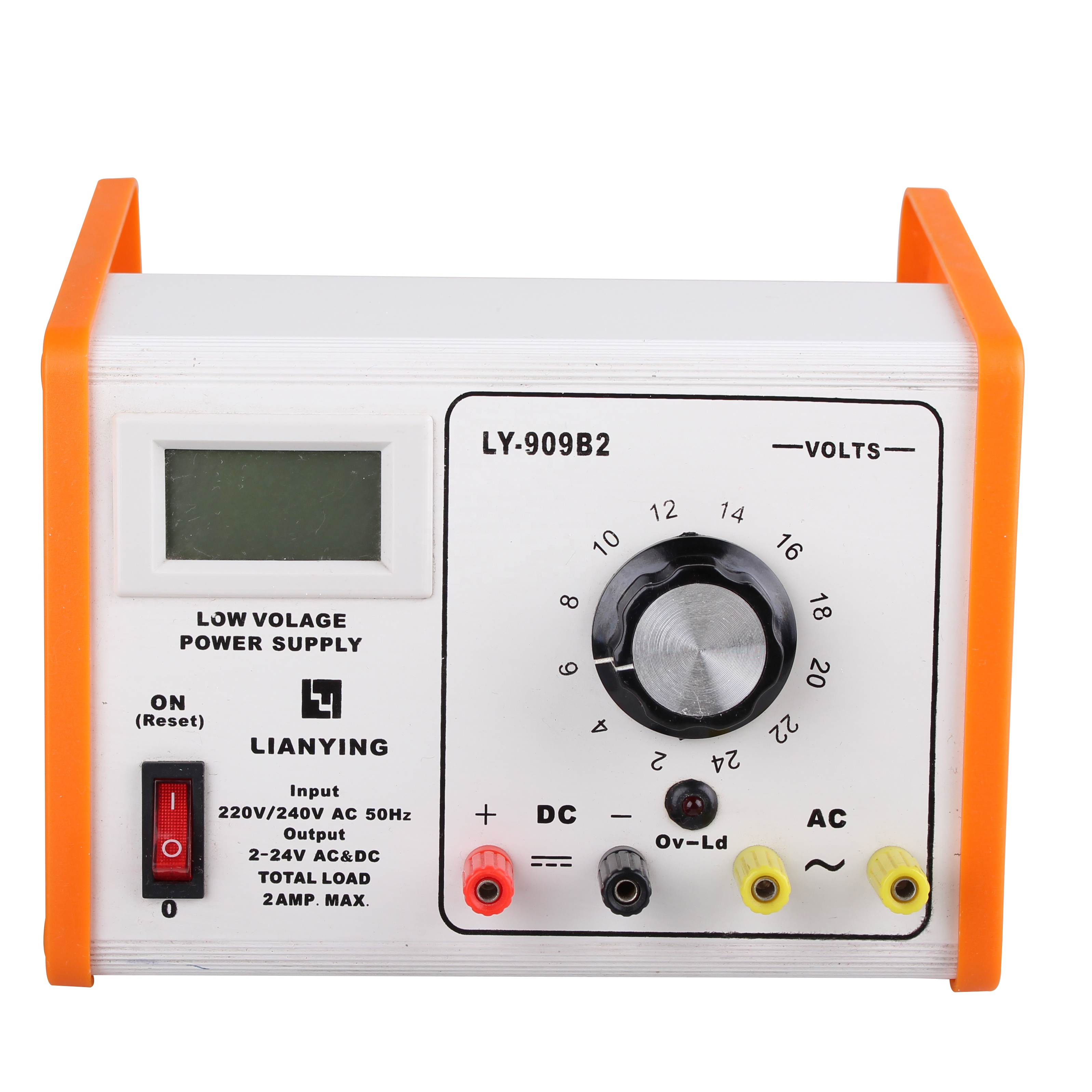 24v ac dc power supply with lcd screen