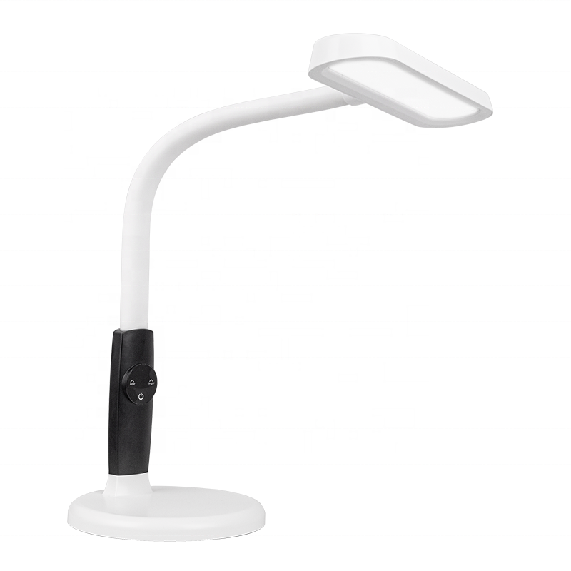 contemporary led light night study touch table lamp