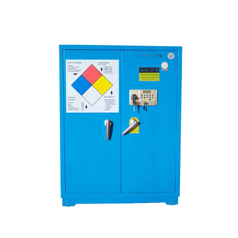 LY-DPG03 flammable safety cabinet with blue and gray
