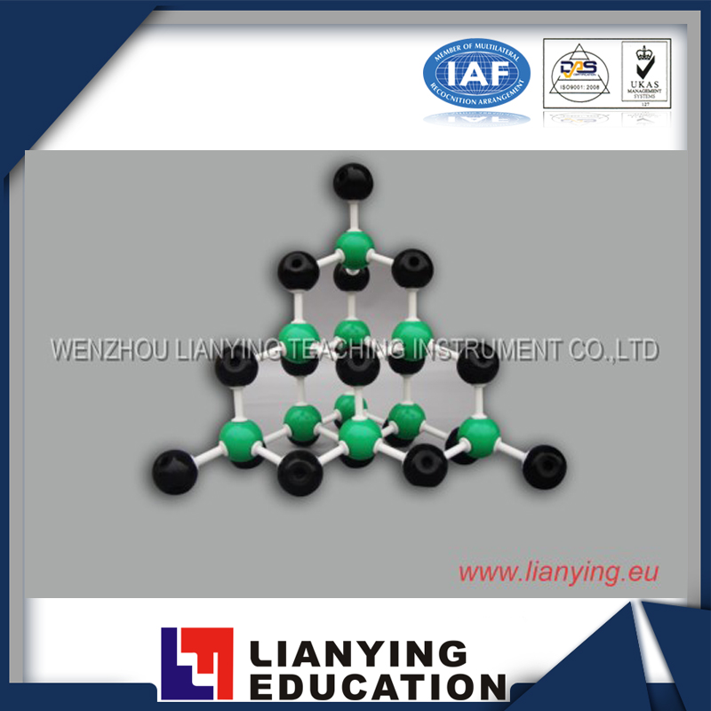 SiC Molecular Model Chemical