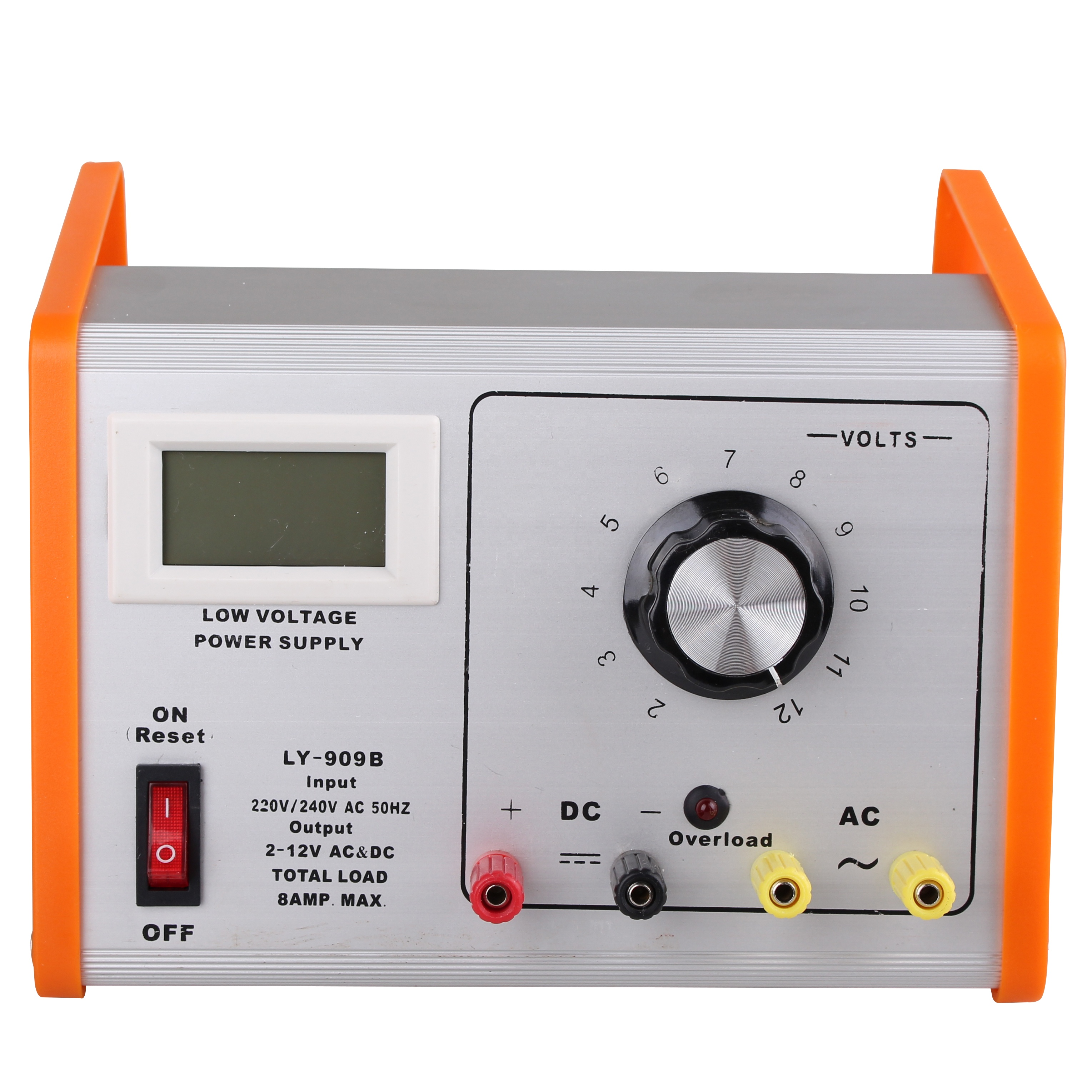 Lcd 12v ac dc lab regulated power supply