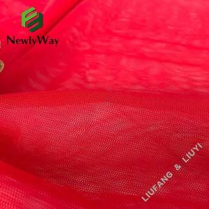 Reasonable price Spandex By The Yard - Factory wholesale hexagon honeycomb net polyester mesh tulle fabric for lady's voile shirt – Liuyi